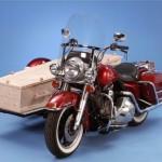 Rouwmotor Harley
