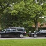 Zwarte staatsie Mercedes